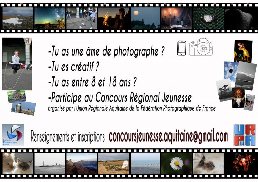 Jeunes photographes, le concours jeunes est ouvert...