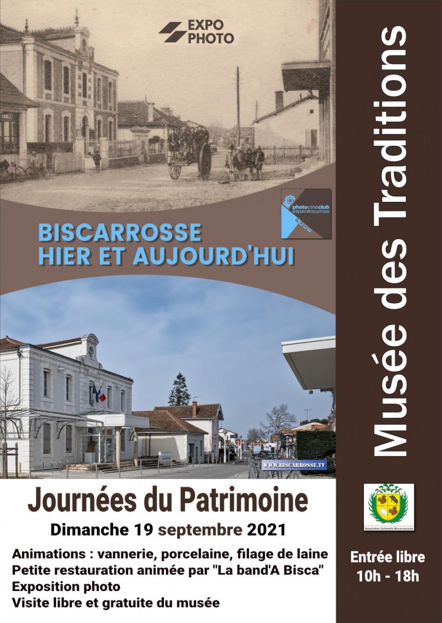 """Le PCCE expose : """"Biscarrosse hier et aujourd'hui"""""""